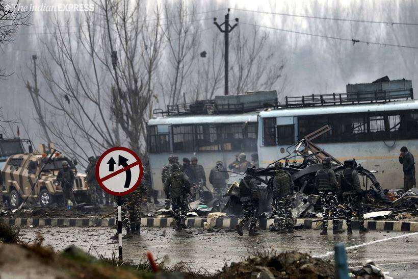 Terror attack in J&K's Pulwama kills 37 CRPF personnel, JeM behind strike