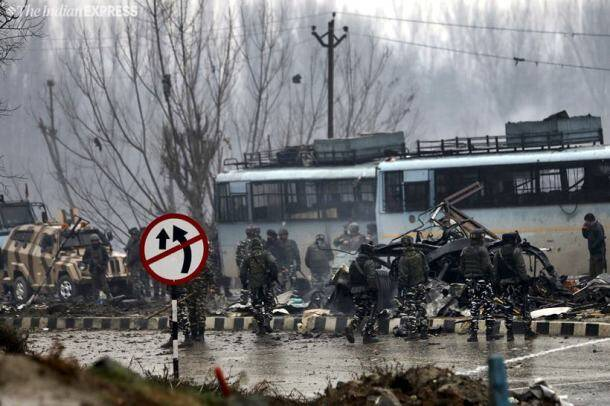 Terror attack in J&K's Pulwama kills 37 CRPF personnel, JeM behind strike