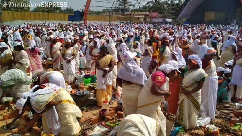 Lakhs Of Women Take Part In Attukal Pongala Festival
