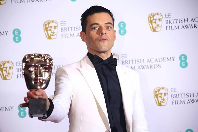 rami malek bafta awards 2019