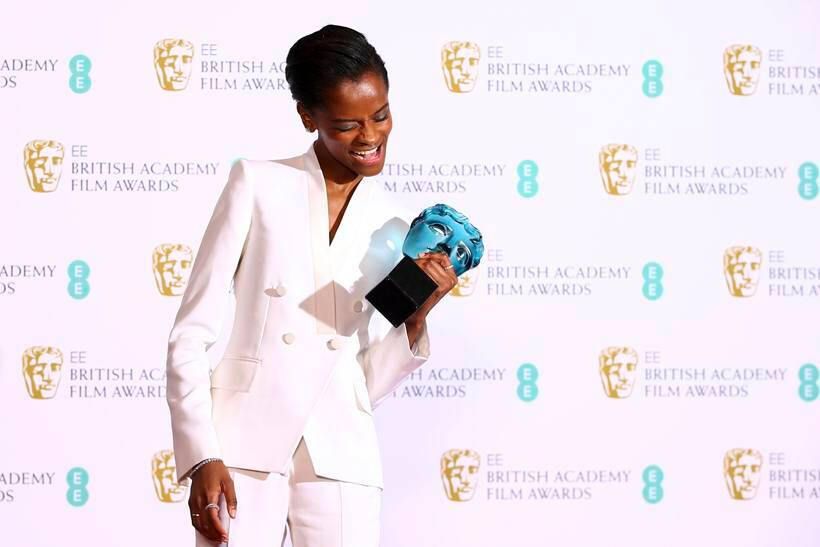 letitia wright bafta awards 2019