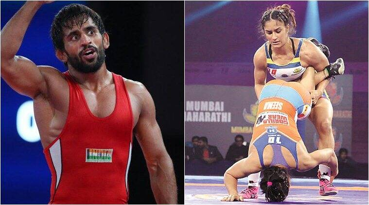 Bajrang Punia wins gold at Tbilisi, Vinesh Phogat reaches final at Medved