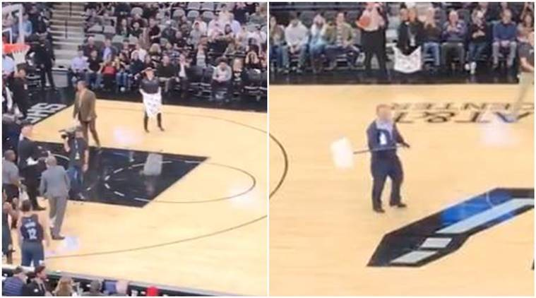 bats, Bats Invade Spurs-Nets NBA Game, NBA, NBA disrupted by bats, bats viral video, bats in stadium, trending