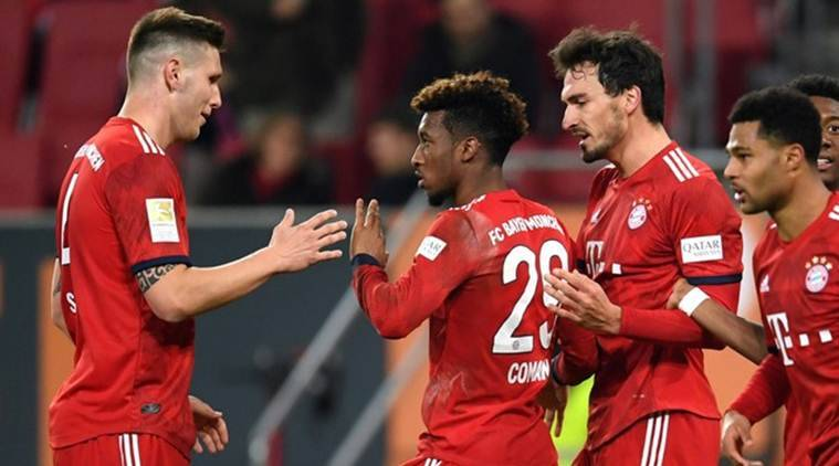 Kingsley Coman Steers Bayern Munich To 3-2 Comeback At Augsburg