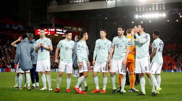 Champions League: Solid Bayern Munich Hold Liverpool At Anfield