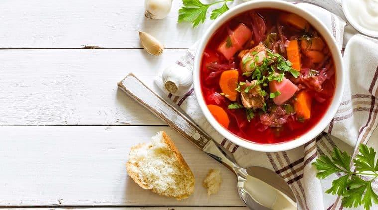 beetroot carrot shorba recipe