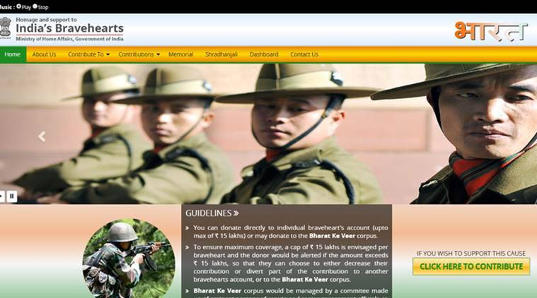 Here is how you can contribute to Bharat Ke Veer
