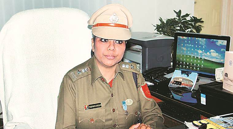 Former IPS officer Bharati Ghosh.