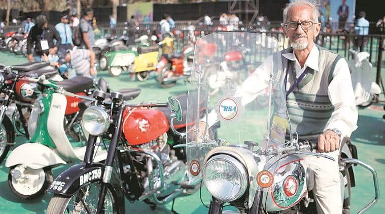 mumbai auto show, vintage cars, humber, stellite, minerva, cord, triumph, western indian automobile association, western indian automobile association auto show, bandra kurla complex, mmrda grounds, mumbai news, indian express