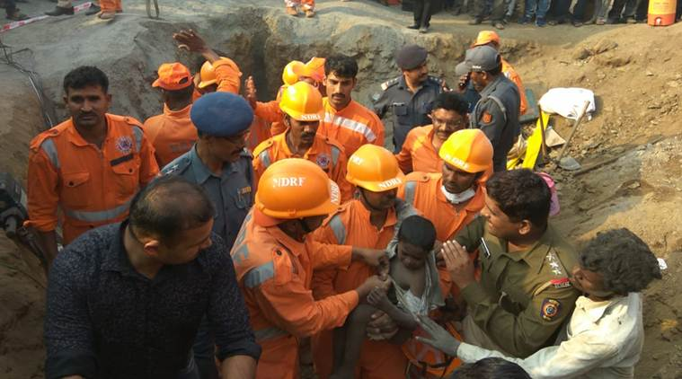 Pune: NDRF rescues boy from 200-ft deep borewell in 16-hour operation