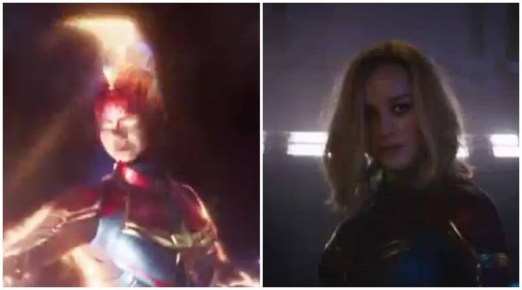 Captain Marvel trailer superbowl