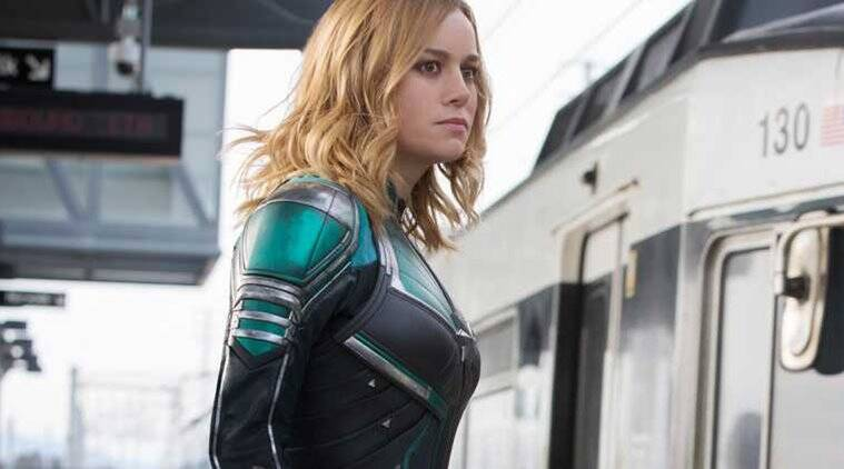 captain marvel new clip brie larson
