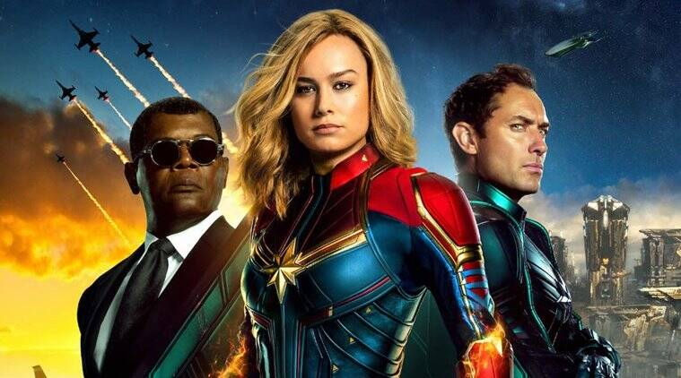 Captain Marvel starring Brie Larson releases on March 8