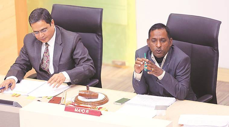 BJP councillors at Chandigarh civic body budget meet: Double our Ward Development Fund