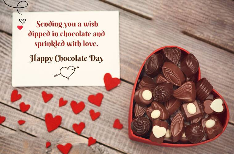 Happy Chocolate Day 2019 Wishes Images, Quotes, Status, SMS
