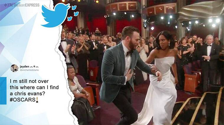 'Chivalry is not dead': Chris Evans gets praise online ...