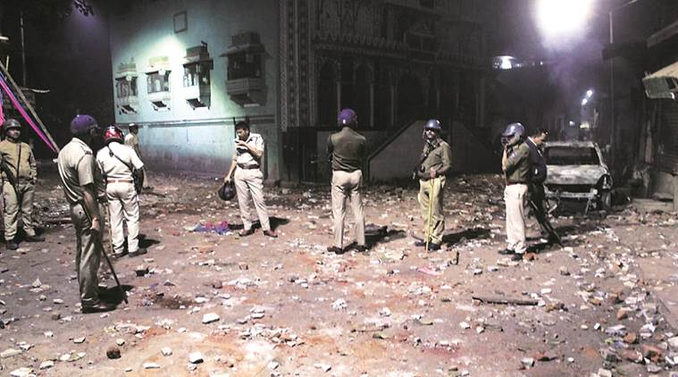 Madrasa boundary wall pulled down following rumours of beef recovery in area: Police