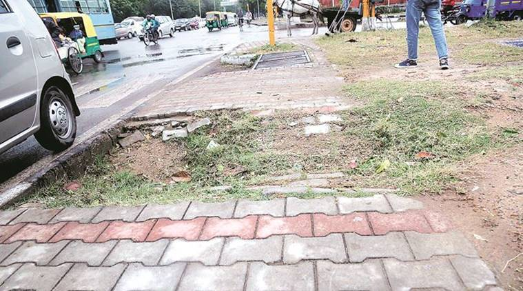 Chandigarh Municipal Corporation laid paver blocks and PCC tiles worth Rs 20 crore in 3 years