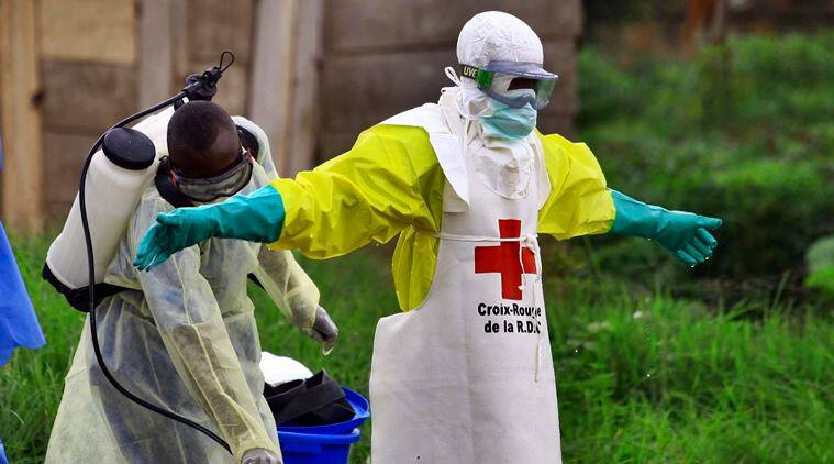 First Ebola case reported in Uganda, in spillover from Congo