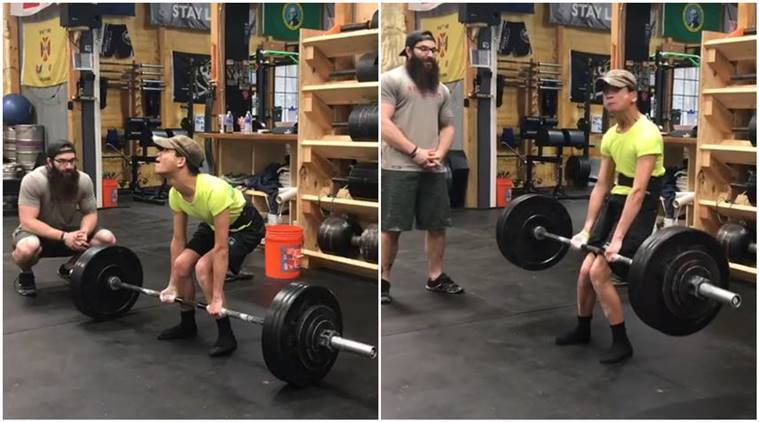 Arnold Schwarzenegger, Athlete with cerebral palsy deadlifts 200 pounds, cerebral palsy deadlifts. cerebral palsy athlete deadlifts, cerebral palsy athlete viral video, fitness video, Hollywood, motivation videos,