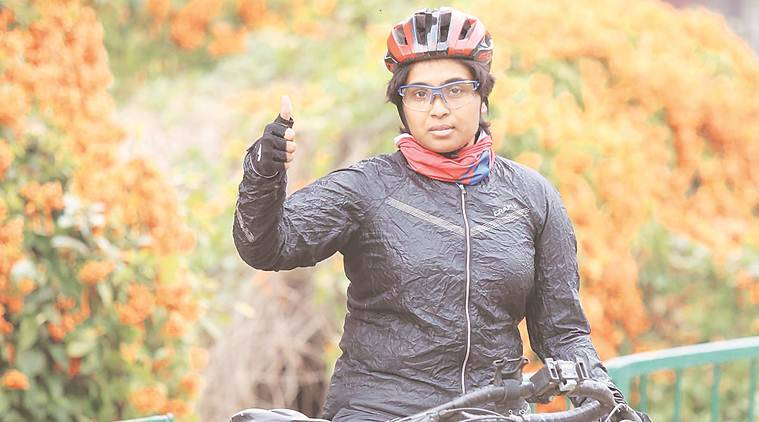 Woman cyclist from Hyderabad finds Punjab 'most welcoming'