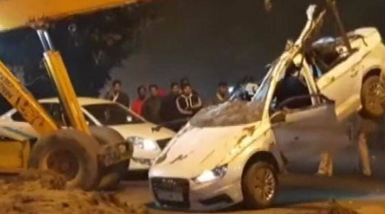 Delhi: Three Of Family Killed, Four-year-old Critical As Dumper Hits Audi In Rohini