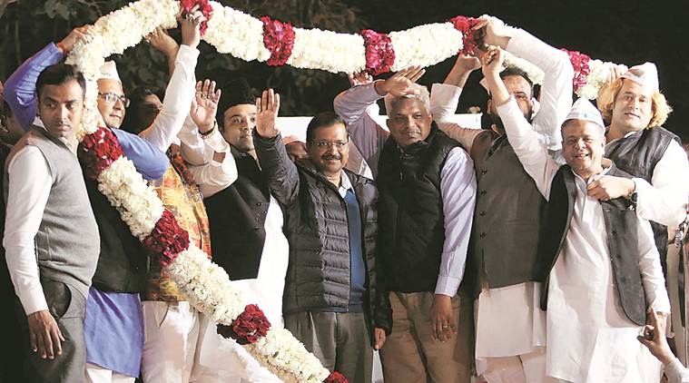 Tired of trying to convince Congress to tie up with us: Delhi CM