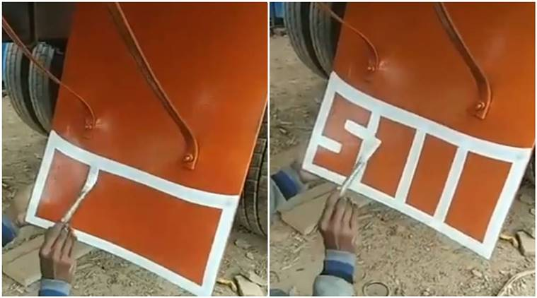 Watch: Netizens Can't Stop Obsessing Over This Truck Painter's Calligraphy Skills