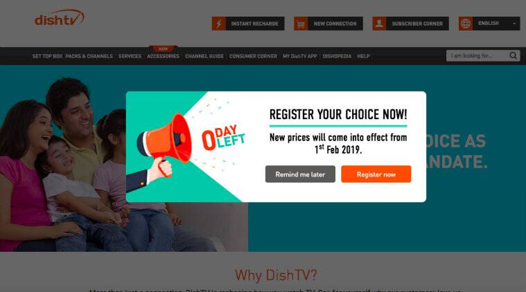 Dish TV DTH Channel Selection Process: How to Choose Channels