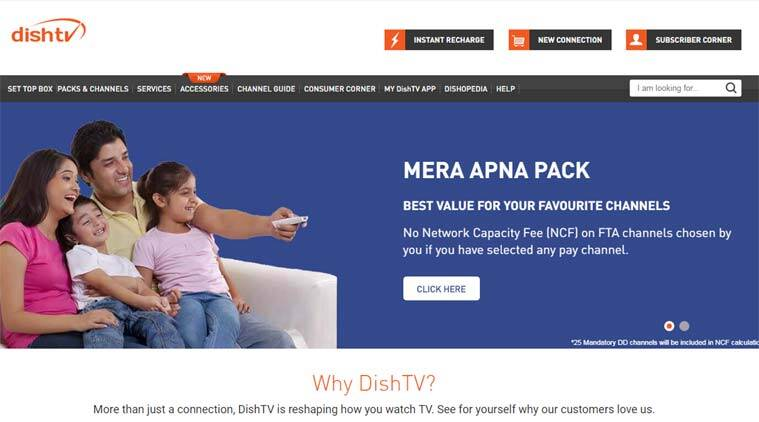 Tata Sky, Tata Sky NCF, Tata Sky NCF waived, Dish TV, Dish TV extra NCF, Dish TV removes NCF, TRAI new rules, TRAI cable rules, TRAI new bill, Trai TV bill, Dish NCF calculate, Dish TV channel selection
