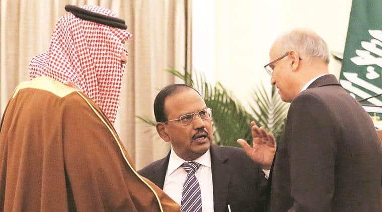 saudi prince in India, Saudi Arabia Prince in India, PM modi, PM Modi meet Saudi Arabia Prince, ajit doval, Modi Saudi Arabia Prince, Mohammad Bin Salman