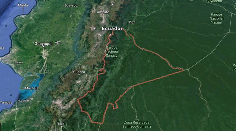 Powerful 7.5-magnitude quake hits southern Ecuador