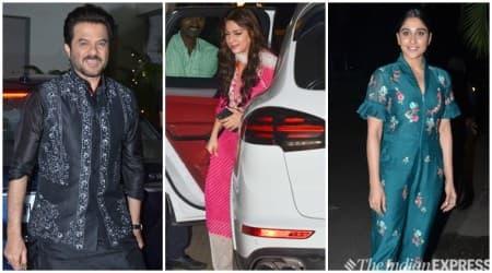 Ek Ladki Ko Dekha To Aisa Laga Anil Kapoor, Juhi Chawla, Regina Cassandra party