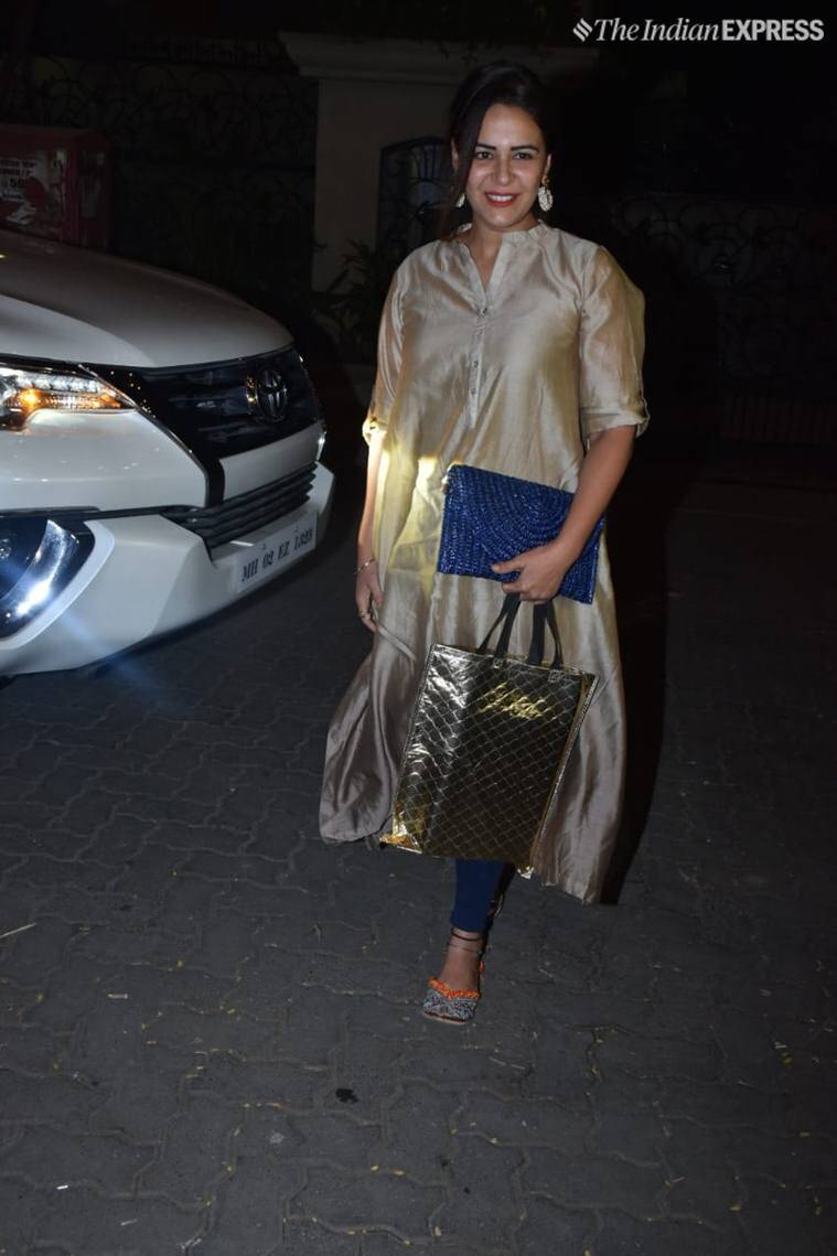 mona singh at ekta kapoor party