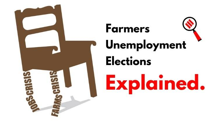 lok sabha elections, farm crisis, yogendra yadav, jobs, economy, express explained, watch live explained