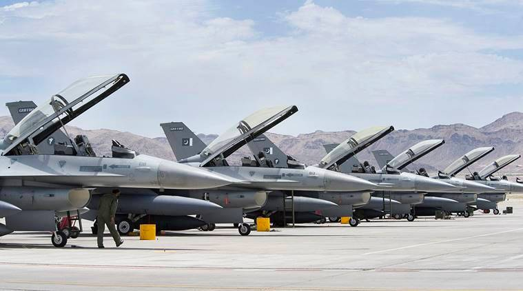 Pakistan F 16, F16 cost, F16 specs, Pakistan airstrikes, Pakistan air strike Kashmir, Pakistan F-16 jets, India Pakistan, India Pak tension, Indian air force, Abhinandan, Imran Khan, Balakot sit strike, Indian Air Force, F 16 sale clause, f-16 US Pakistan, US Pakistan deal, pakistan attack, pak attack india, Pakistan news, Indian Express