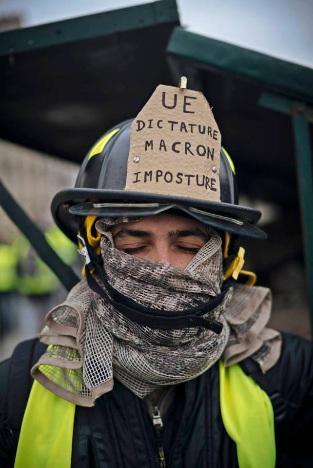 The varied faces of France's yellow vest movement