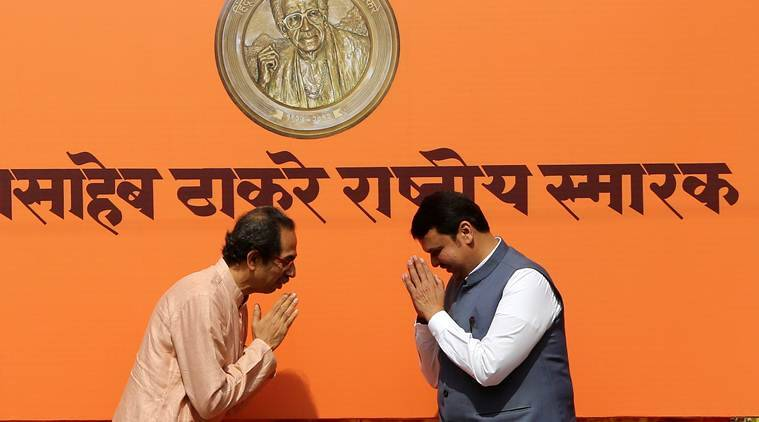 bjp sena alliance, lok sabha elections 2019, lok sabha polls 2019, bjp, shiv sena, uddhav thackeray, devendra fadnavis, aditya thackeray, subhash desai, milind narvekar, chandrakant patil, sudhir mungantiwar, election news