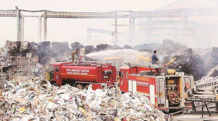 Major fire breaks out in paper mill in Punjab, tonnes of raw material gutted, no one injured