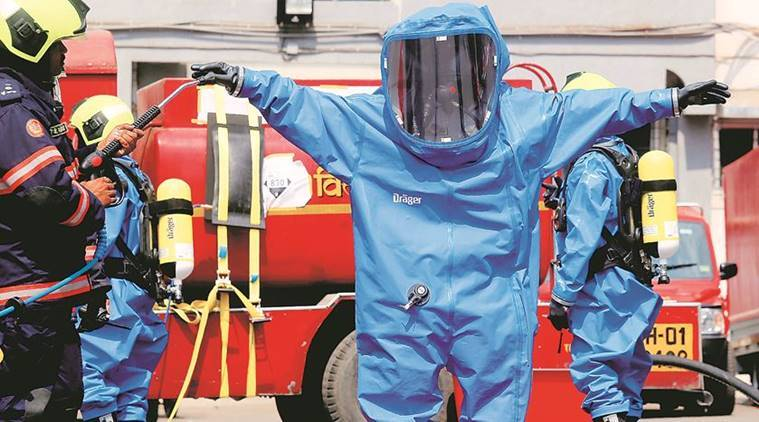 To Battle Chemical, Nuclear Attacks: Mumbai Firemen Get Training On Hi-tect Hazmat Van