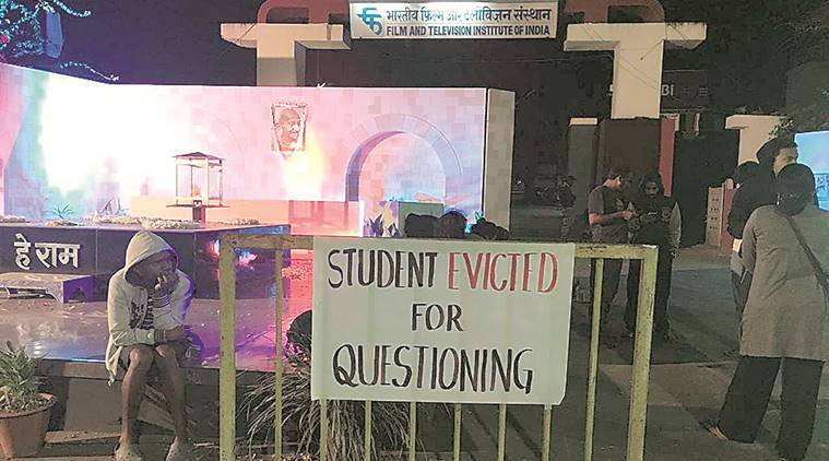 Protesting FTII students seek I&B's intervention, accuse administration of targeting those who speak up