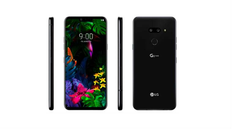 LG says the G8 ThinQ's OLED screen acts as an audio amplifier