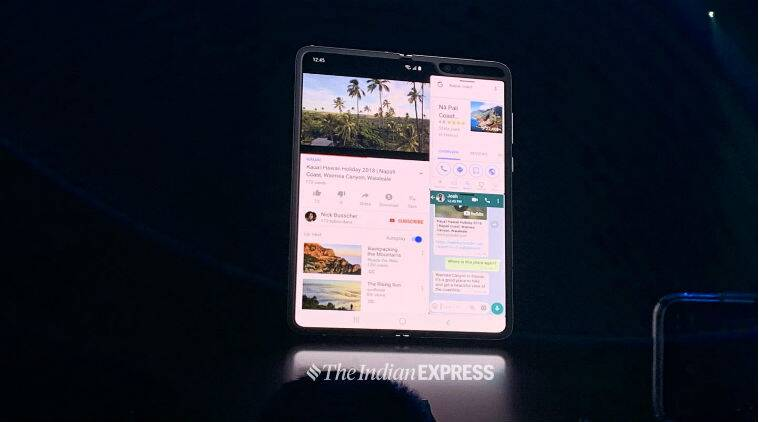 Samsung Galaxy Fold, Samsung, Galaxy Fold, Galaxy Fold price, galaxy fold features, Galaxy Fold price in India, Galaxy Fold specifications, Galaxy Fold features