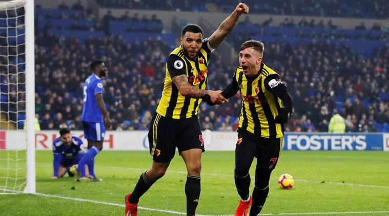Premier League: Gerard Deulofeu Hat-trick Leads Watford To 5-1 Rout Of Cardiff City