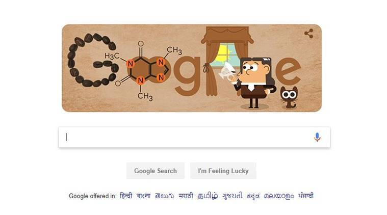 Google Doodle Celebrates German Chemist Friedlieb Ferdinand Runge Who Identified Caffeine