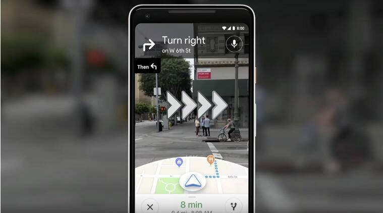 Google Maps Starts Testing AR-Powered Navigation