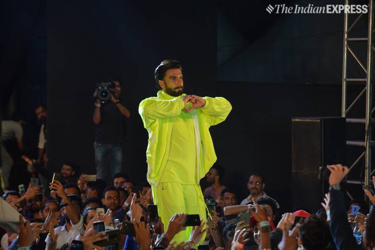 ranveer singh at gully boy concert