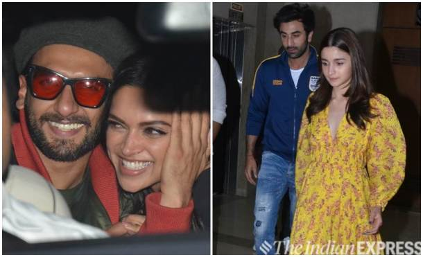 Deepika Padukone, Ranbir Kapoor and others attend Gully Boy screening