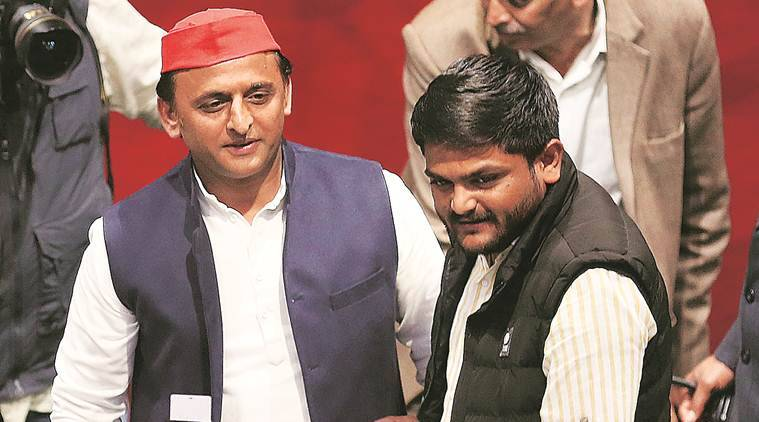 Akhilesh By His Side, Hardik Says 'willing To Join Any Anti-bjp Front'
