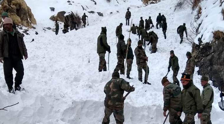 Five ITBP jawans feared dead in avalanche in Himachal's Kinnaur
